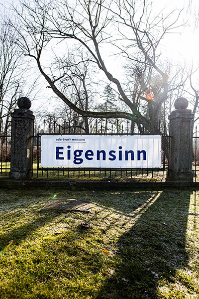 Plakat Eigensinn