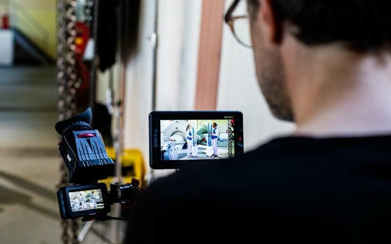 Filmarbeiten Kamera